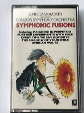 john dankworth conducts the london symphony orchestra . fusions . cassette