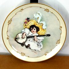 Susanna Maud Humphrey Bogart Little Ladies 1990 23K Gold Rim Display Plate