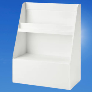 *New* BERGIG Book display with storage, white, 004.727.02 *Brand IKEA*