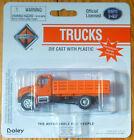Boley HO 185-412399 2001 International 2-Axle Stakebed -- orange