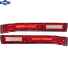 1971 71 Skylark GS GSX Rear Tail Lamp Light Lens Taillight Taillamp Set - PAIR