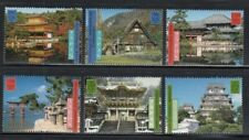 UNITED NATIONS World Heritage Sites in Japan MNH set