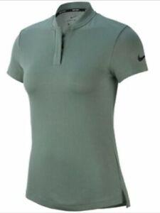 New Nike Golf Women's Size L Dri Fit Polo Shirt 884845-365