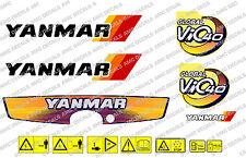 YANMAR VIO 40 Digger Decalcomania Sticker Set