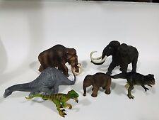 Lot of 6 Schleich Safari LTD Apatosaurus Mammoth 16523 16517 family etc...