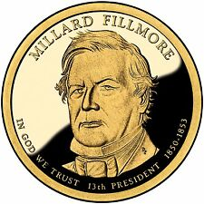 2010 President Millard Fillmore Proof Dollar Coin