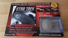 Eaglemoss Star trek Collection Issue 1 USS Enterprise NCC-1701-D + Magazine card