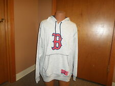 Boston Red Sox Majestic Forged Tradition Gray Hooded Sweatshirt Size 2XL