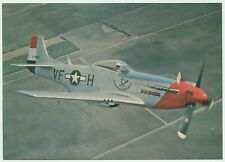 AFTER THE BATTLE POSTCARD - NORTH AMERICAN P-51D MUSTANG
