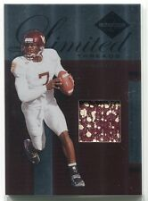 2005 Leaf Limited Threads Prime Michael Vick Virginia Tech College Patch 10/25