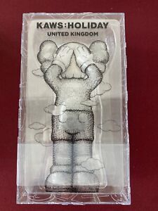 KAWS HOLIDAY UK Vinyl Figure BLACK In Hand SHIPS TODAY