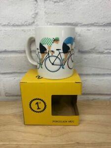 Cycle Works Bicycle Race - Bone China Mug,Gift Boxed, 9cm