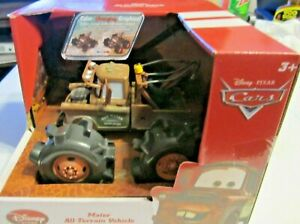 Disney Cars Disney Store All-Terrain Mater Vehicle Color Changing Graphics New!