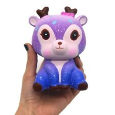 1pc Squeeze Stress Reliever Squishy Slow Rising Toy Ideal Gift Cute Galaxy Deer