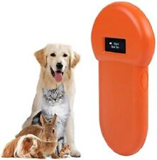 134.2Khz Chip Animal Pet Dog Microchip ID Reader Handheld ISO FDX-B Scanner RFID