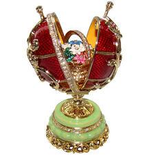 Oeuf Fleurs de Printemps, copie Oeuf Faberge Fleurs de Printemps cadeau PAQUES