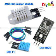 DHT22/AM2302 DHT11 DS18B20 Digital DC 5V Temperature and Humidity Sensor Module