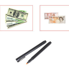 2pcs Currency Money Detector Money Checker Counterfeit Marker Fake  Tester   X