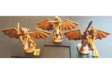 15mm Fantasy Orcian Young Wyvern Trainers (3 figures)