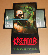 Kreator Renewal Original Promo Display Double Sided Poster 18x24