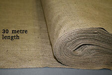 18oz Natural Hessian Material - 1.8m wide x 30 metre length