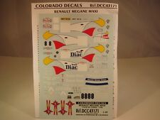 DECALS 1/43 RENAULT MEGANE MAXI #8 TDC 1996 - COLORADO 43171