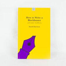 How To Escribir Un Superproducción por Sarah Harrison