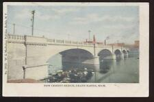 Postcard Grand Rapids Mi New Cement Bridge 1906 ?