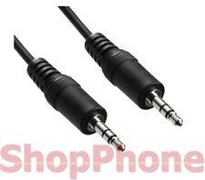 Cable audio alargador jack 3.5mm Macho-Macho 1.2 metros auxiliar aux auriculares