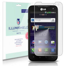 iLLumiShield Matte Screen Protector w Anti-Glare/Print 3x for LG Viper 4G LTE