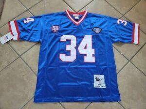 #34 Thurman Thomas Buffalo Bills Throwback Jersey Size Large NWT