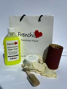 Frenchic Al Fresco Chalk Mineral Painting kit Composite UPVC Door inc 150ml pot
