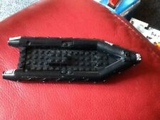 Character Building Black Dinghy boat