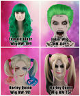 Harley Quinn Style Wig Female Joker Suicide Squad Cosplay Adult&Kid