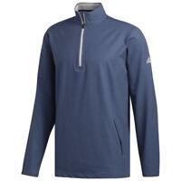 New Men's Adidas Adi Club Wind Jacket 1/4 Zip Golf Pullover - Choose Size &