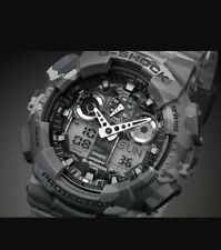 Casio g-shock ga-100 gris camuflaje,with Box