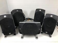 Logitech Z-5500 THX Dolby 5.1 Surround Sound Computer Speakers all 5 speakers.