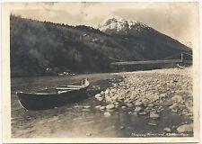 Three Early Photographs of Skagway, Skagway River & AB Mountain, & Buildings