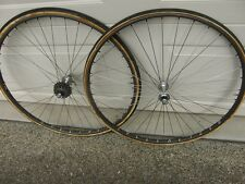 Dura Ace Wolber Super Champion Tubular Wheelset 700C Vintage Specialized Wheels