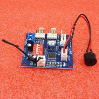 DC 12V Fan Temperature Control Speed Controller CPU High-Temp Alarm PWM PC CPU
