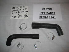 Jeep Wrangler YJ 1987-95 20 Gal Tank 91-95 15 Gal Filler & Vent Hoses w/Clamps