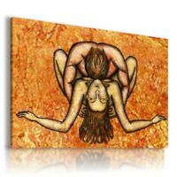 PAINTING COUPLE PEOPLE WOMAN MAN SEXY PRINT Canvas Wall R131 UNFRAMED-ROLLED