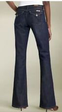 David Kahn Jeans 'Nikki' Western Flap Pocket Stretch Size 28X35 Boot Cut $179