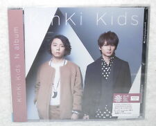 KinKi Kids N album 2016 Taiwan CD+20P booklet (15-trks)