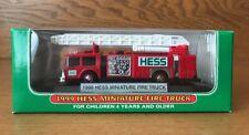 1999 HESS MINIATURE FIRE TRUCK NEW