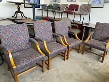 Lot Of 4 Guest Side Lobby Chairs By Steelcase Office Furniture