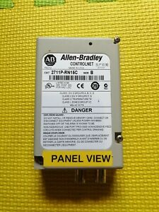 Allen Bradley 2711P-RN15C Series B ControlNet Communication Module