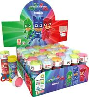 6 PJ Masks Bubble Liquid Tubs - Pinata Toy Loot/Party Bag Fillers Childrens/Kids