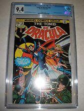 Marvel Comics Tomb of Dracula # 36 CGC 9.4