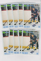 (10) card 1993 Classic Flashbacks #116 Mike Bossy lot, New York Islanders HOF